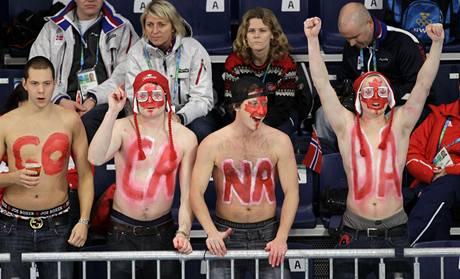Fanoušci Kanady vytvářejí na curlingu nezvykle bouřlivou atmosféru
