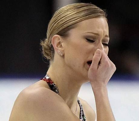 BOLEST. Krasobruslařce Joannie Rochetteové zemřela dva dny před olympijskou soutěží matka.