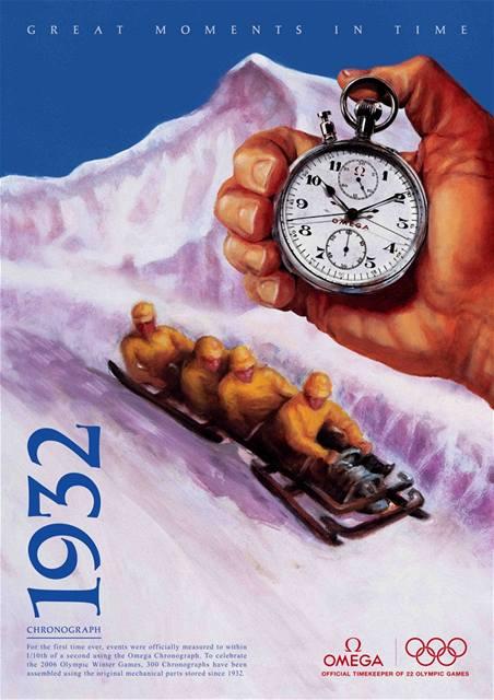 Omega vzpomíná na začátky měření (reklama z roku 2006)