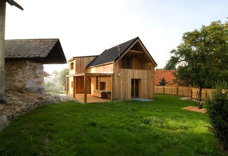 Rodinný dům Zádveřice, návrh Ing. arch. Pavel Mudřík