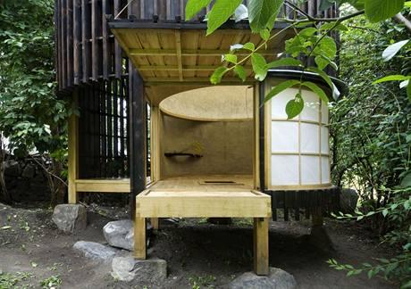 Čajový domek, návrh A1 Architects