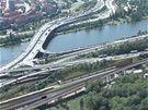 První úsek vysokorychlostní železnice Praha - Beroun