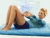 Posilování šikmých břišních svalů.