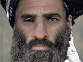 Pravděpodobná podoba šéfa Talibanu mully Muhammada Umara
