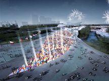 Letní olympijské hry 2012 v Londýně - vizualizace.
