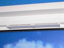 Systém klapky pro přívod čerstvého vzduchu
