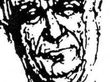 Johannes Urzidil na kresbě