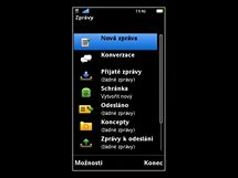 Sony Ericsson Vivaz (ukázka operačního systému)