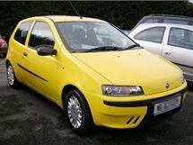 Žlutý Fiat Punto. Ilustrační foto