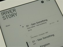 iRiver Story - muzika 2