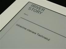iRiver Story - pozn�mky