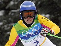 Překvapivá vítězka obřího slalomu Viktoria Rebensburgová na olympijské trati.