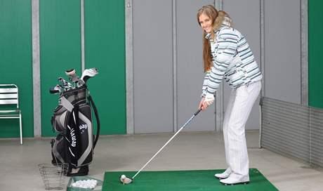 Miss golf 2008 Karolína Rédlová.
