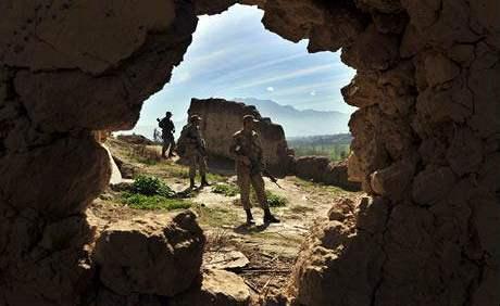 Komplex jeskyní, kde sídlilo velitelství Al-Kajdy