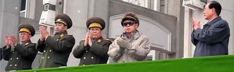 Severokorejský vůdce Kim Čong-il (7. března 2010)