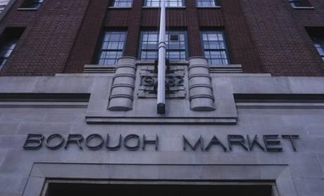 Ukousněte si Londýna - Borough market