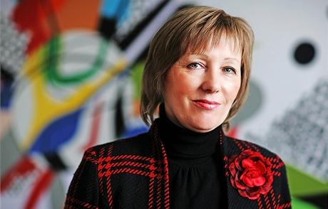 Eva Kudrnová - ředitelka soukromého pražského gymnázia Amazon