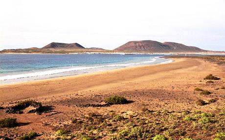 Playa del Risco a ostrov Isla Graciosa