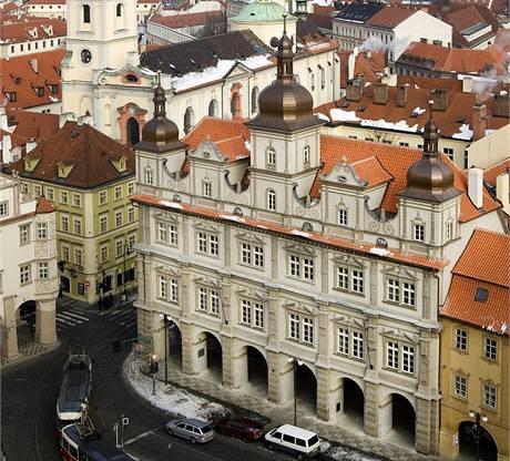 Rekonstrukce renesanční budovy Malostranské besedy v Praze trvala více než tři roky.