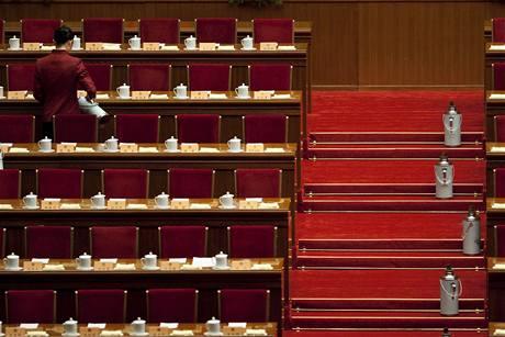 Čínský parlament bude od zítřka jednat mimo jiné o výměně generací v čele země v roce 2012