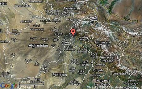 Mapa Pákistánu