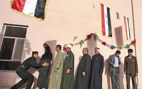 Volby v Iráku provází přísná bezpečnostní opatření (7. března 2010)