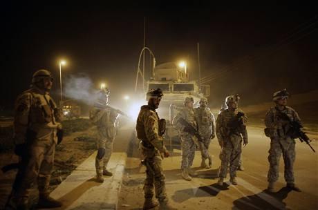 Americká vojska mohou domů, irácké volby dopadly dobře