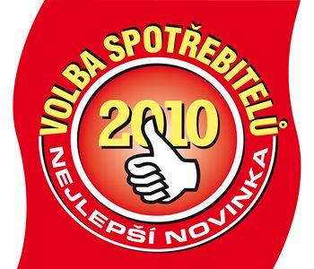 logo Volba spotřebitelů - Nejlepší novinka 2010