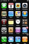 Windows Phone 7 skin pro Apple iPhone