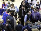Zmatek po kolapsu hráče Detroitu Pistons Rodneyho Stuckeyho