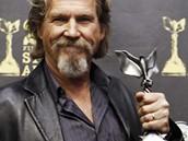 Herec Jeff Bridges s cenou Spirit Award za v�kon ve filmu Crazy Heart