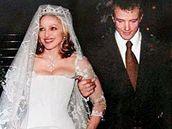 Svatba Madonny a Guye Ritchieho