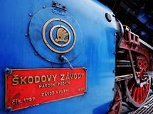 Lokomotiva Albatros na Hlavním nádraží Praha