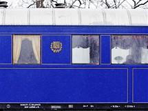 Salonní železniční vůz v němž cestoval prezident T.G. Masaryk