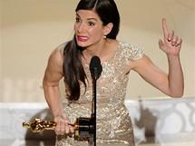 Oscar 2010 - Sandra Bullocková