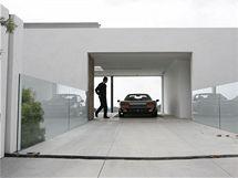 Maserati přímo v obýváku