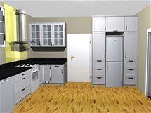 Totální rekonstrukce starší kuchyně pro tříčlennou rodinu