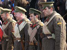 Oslavy 160. výročí narození T.G.Masaryka v Hodoníně