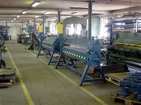 Výrobní hala - Libor Brom - Mostr