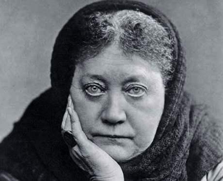 Helena Petrovna Blavatská (1831-1891) v roce 1891