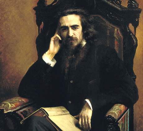 Filozof Vladimir Sergejevič Solovjov (1853-1900)