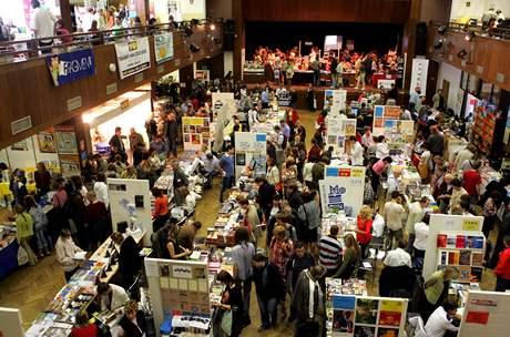 Pohled na havlíčkobrodský knižní veletrh, rok 2007