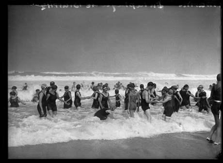 Pláž v Biarritzu, 1924