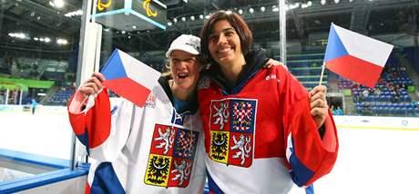 Anna Kulíšková (vlevo), Michaela Hubačová