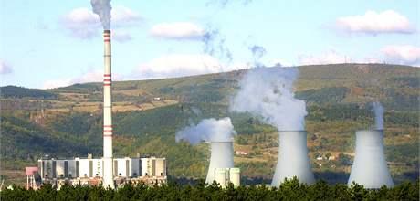 Tepelná elektrárna Prunéřov.