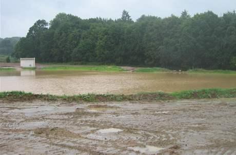 Když je vody na golfovém hřišti příliš mnoho.