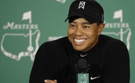 Tiger Woods na US Masters 2009.
