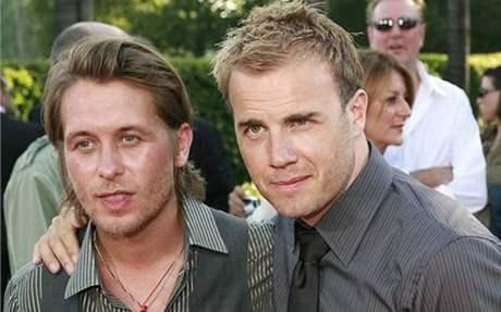 Mark Owen a Gary Barlow z Take That na premiéře filmu Stardust (2007)
