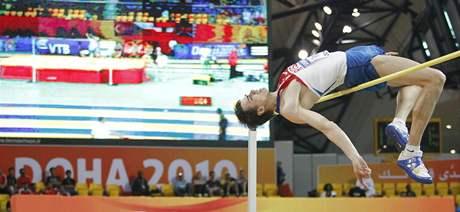 Ruský výškař Jaroslav Rybakov