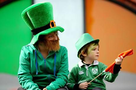 Oslavy Dne sv. Patrika v Dublinu. (17. března 2010)